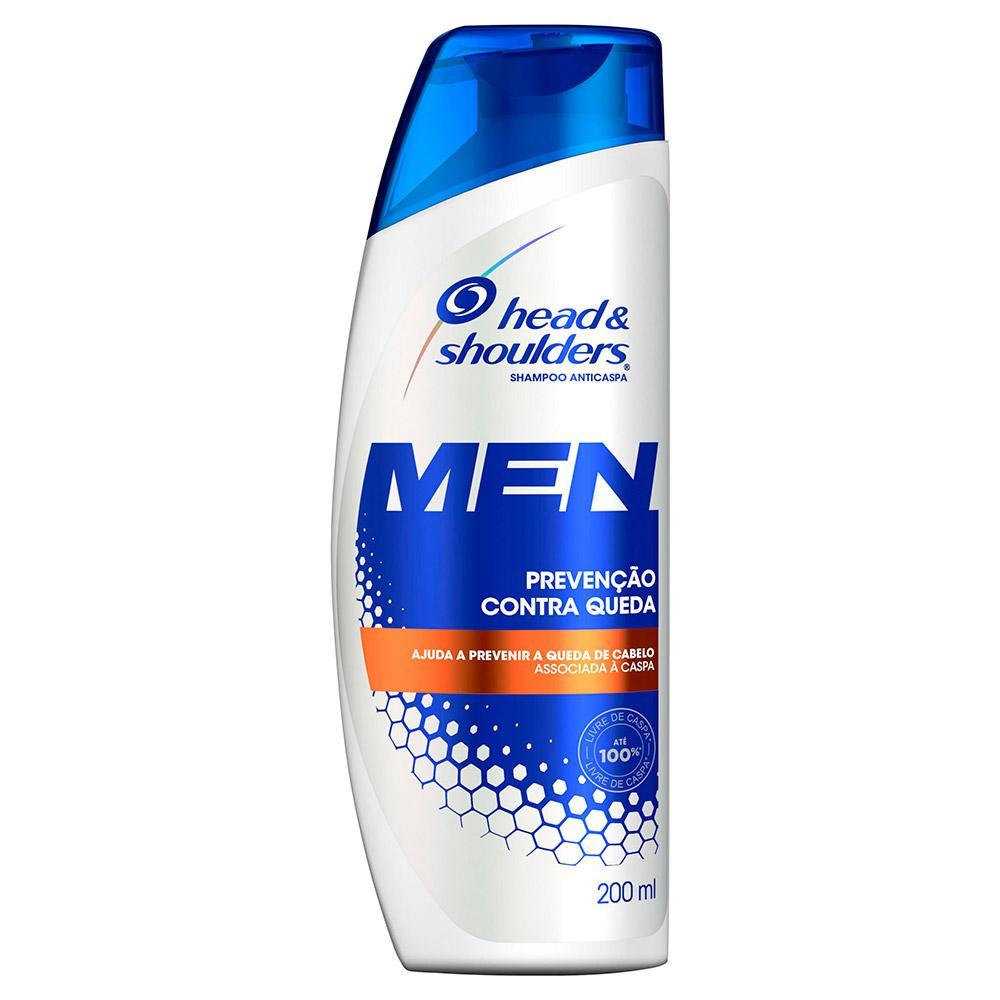 Shampoo Head & Shoulders Anticaspa Prevenção Contra Queda Masculino 200