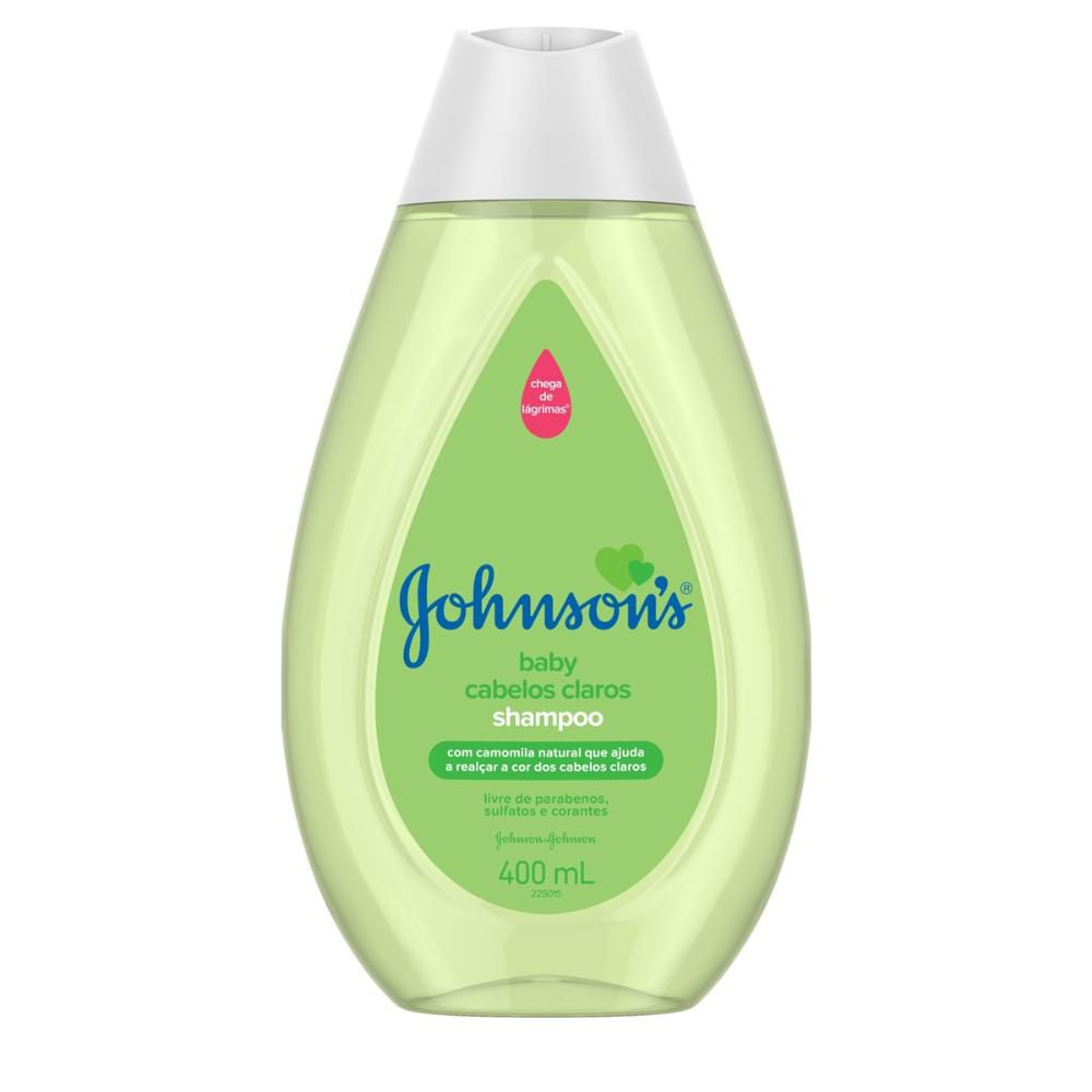 Shampoo Johnson's Baby Cabelos Claros 400ml
