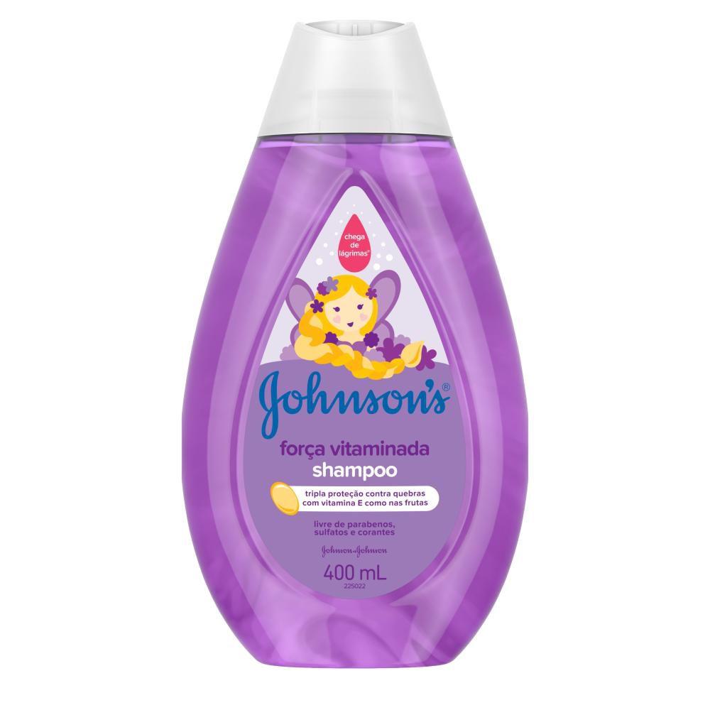 Shampoo Johnson's Força Vitaminada 400ml