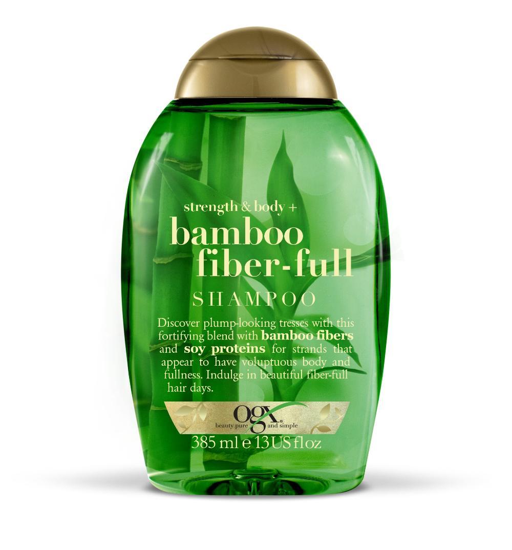 Shampoo OGX Bamboo Fiber 385ml