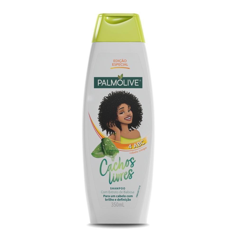 Shampoo Palmolive Cachos Livres Extrato de Babosa 350mL
