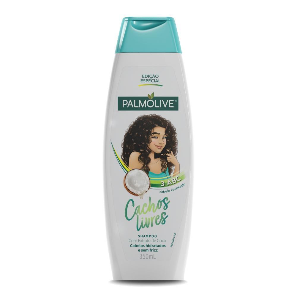Shampoo Palmolive Cachos Livres Extrato de Coco 350mL