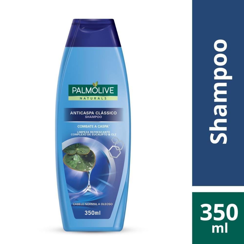Shampoo Palmolive Naturals Anticaspa Clássico 350ml