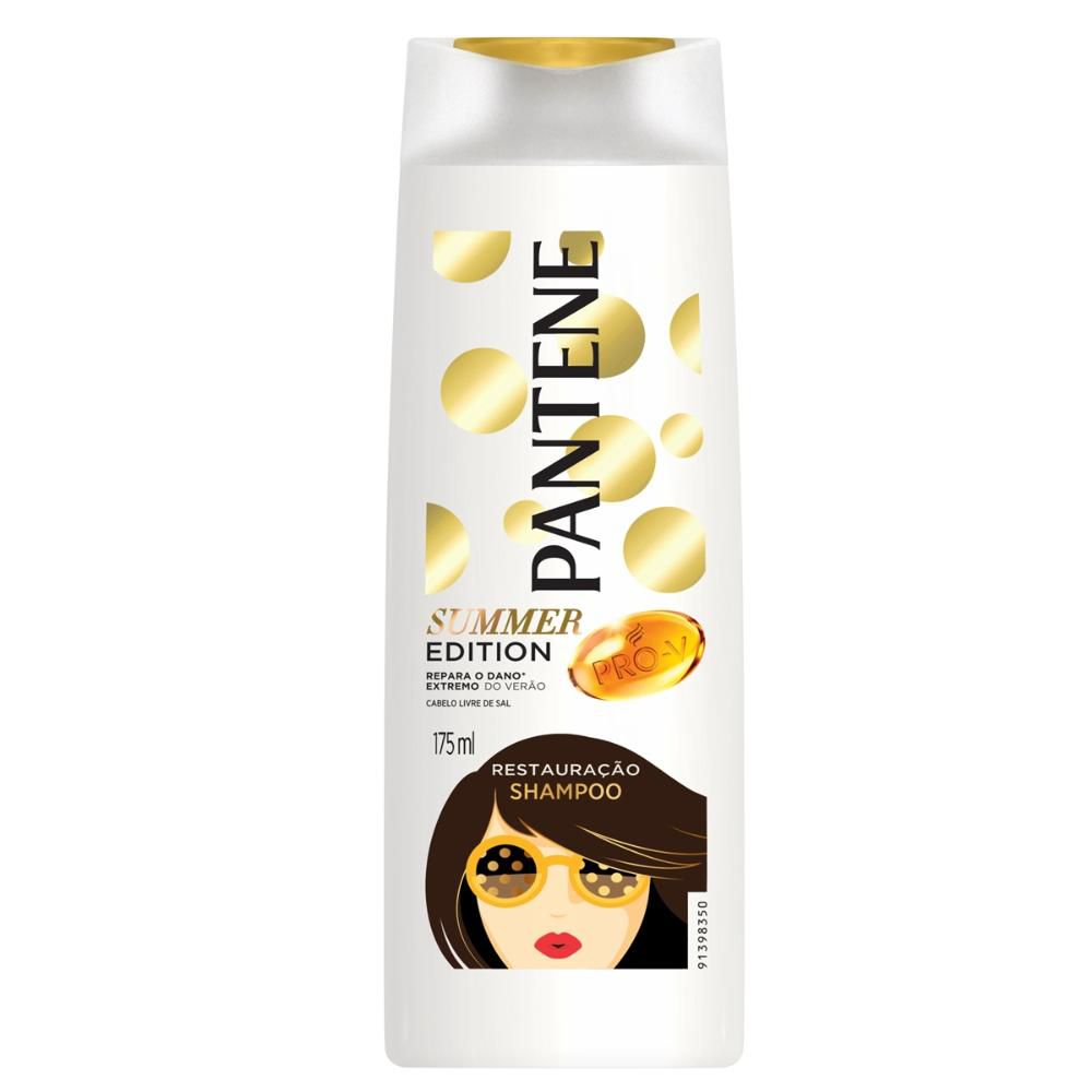 Shampoo Pantene Restauração Summer Edition 175ml