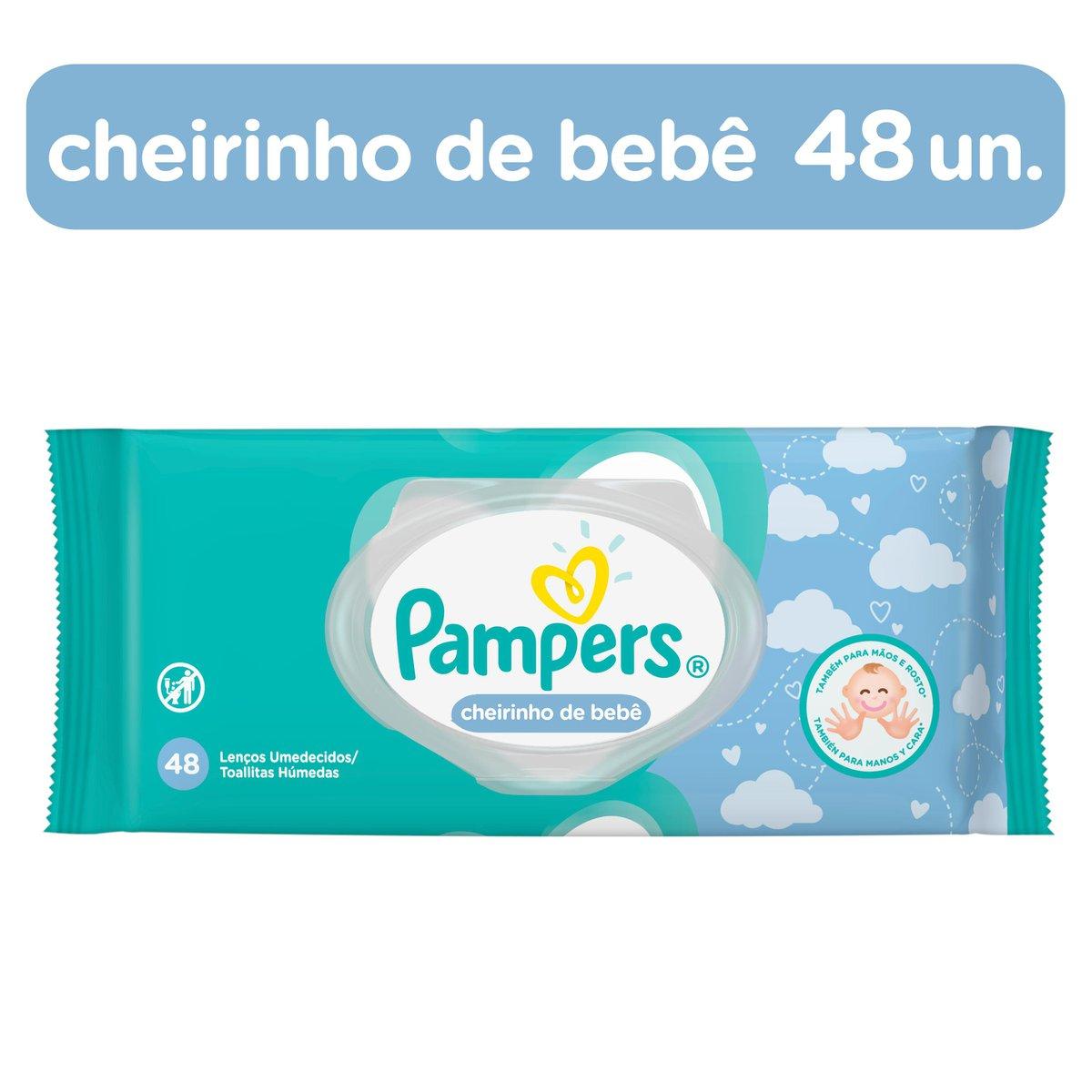 Toalhinhas Umedecidas Pampers Fresh Clean  c/ 48