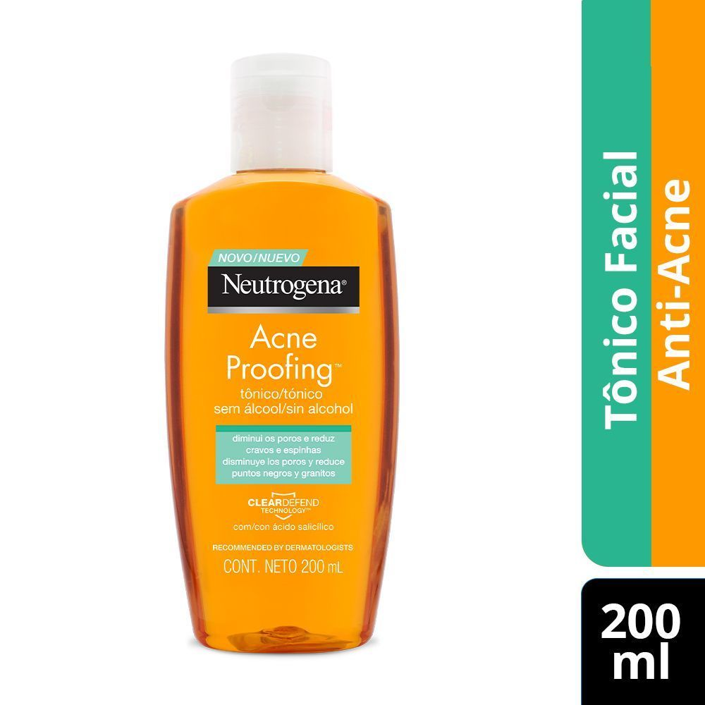 Tônico Facial Neutrogena Acne Proofing 200mL