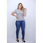 Calça Jeans Barra Destonada