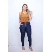 Calça Jeans Botão Estonada