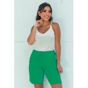 Shorts Básico Feminino Verde