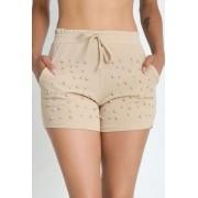 Shorts Crepe com Pérola