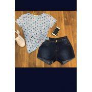 Shorts Jeans Feminino Curto