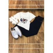 T-Shirt Aplique Girls