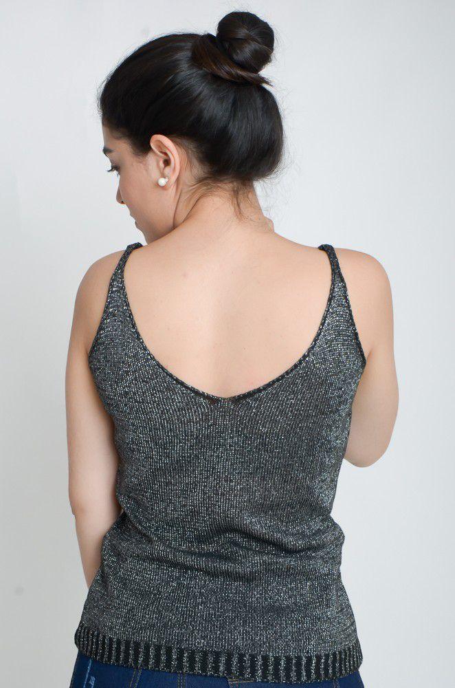 Alcinha Trico Brilho  - ModaStore | Moda Feminina