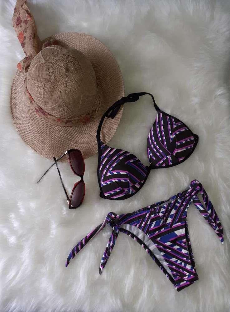 Biquíni Estampado com Bojo  - ModaStore   Moda Feminina