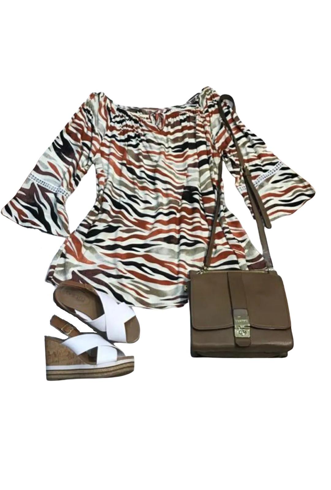 Blusa Feminina Ciganinha   - ModaStore