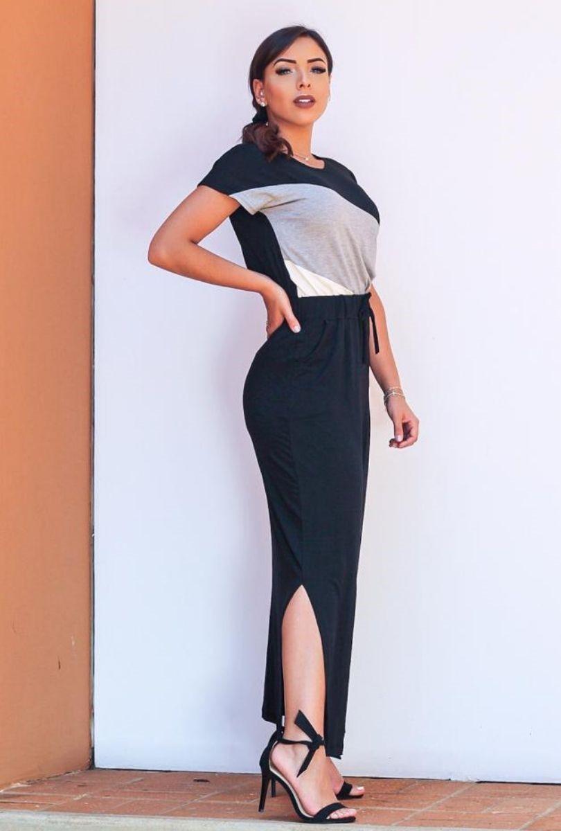 Blusa Básica Feminina 3 Listras  - ModaStore