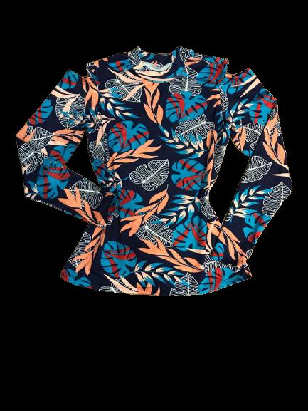 Blusa Feminina  Ombros Vazados  - ModaStore