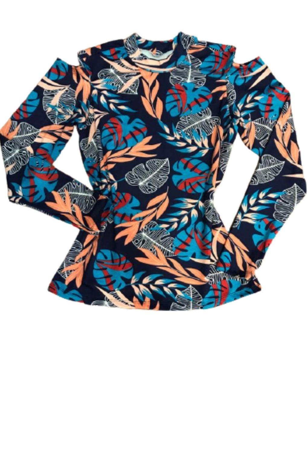 Blusa Feminina Ombros Vazados Plus Size   - ModaStore