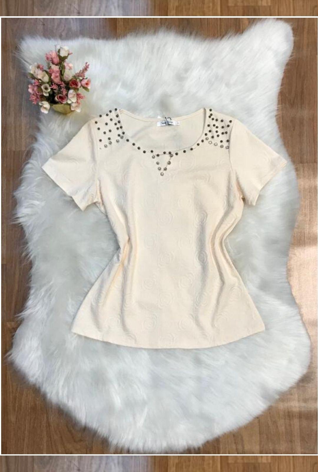 Blusa Moça Chique  - ModaStore