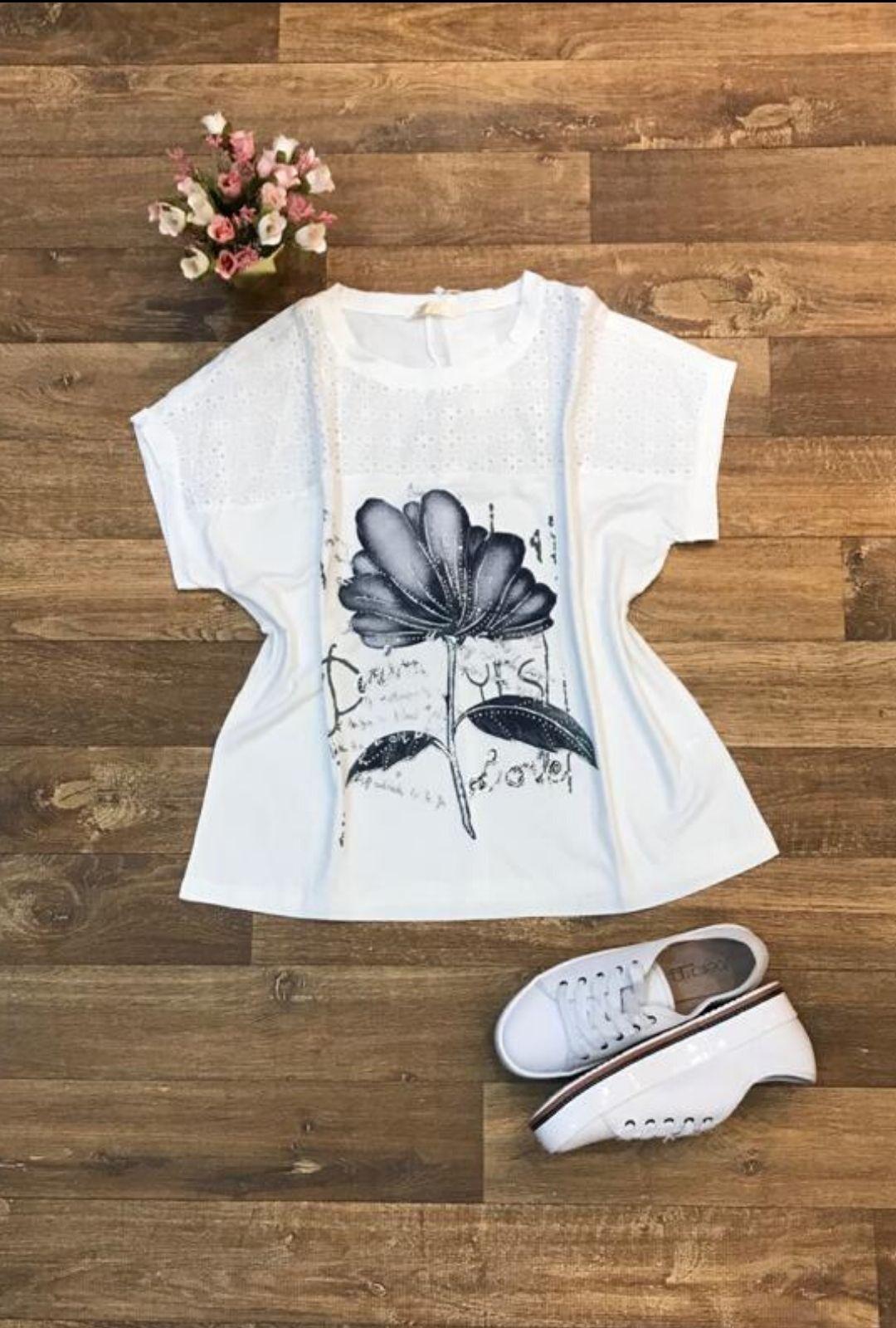 Blusa Renda Lasie   - ModaStore