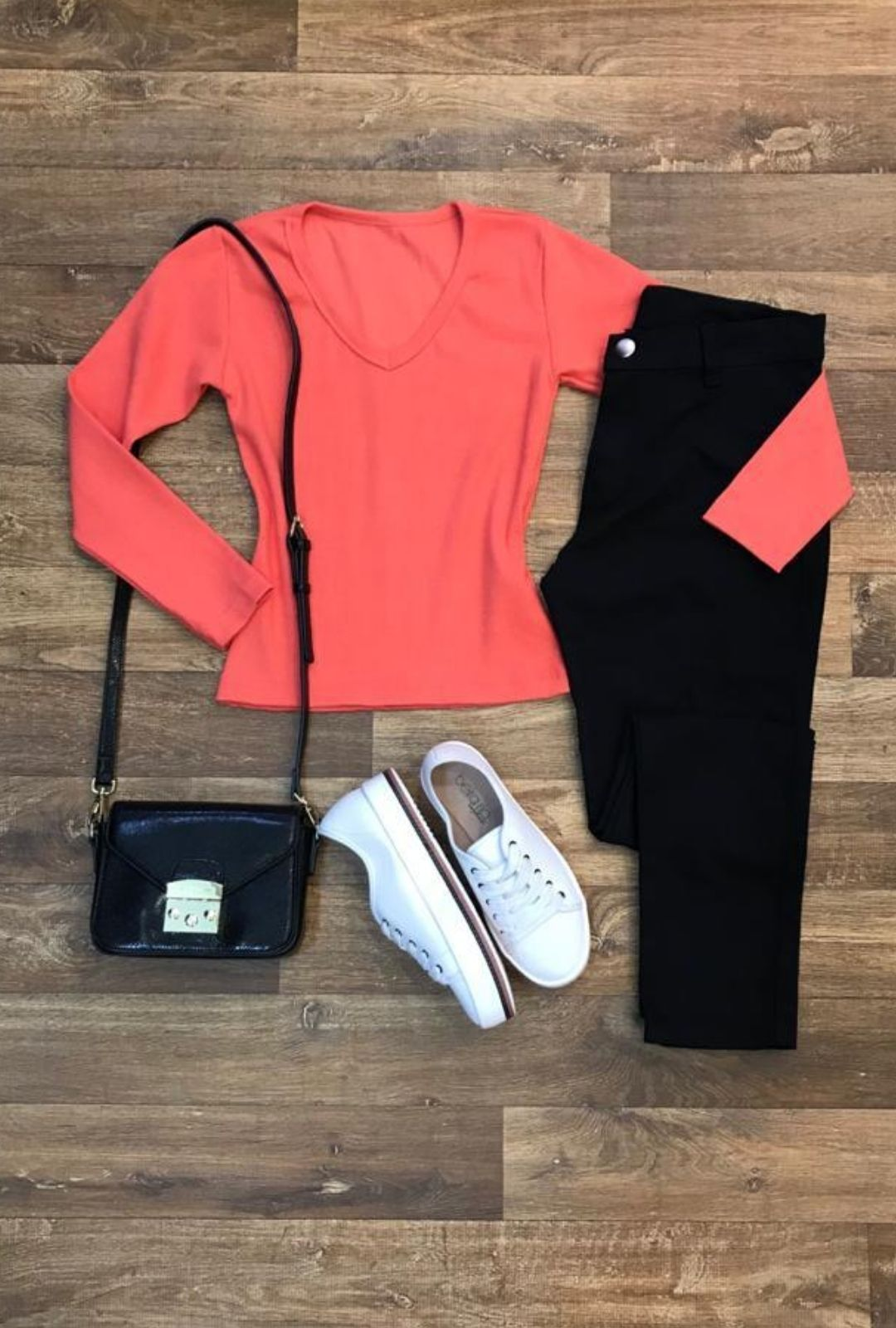 Blusa Segunda Pele Ribana Lisa  - ModaStore | Moda Feminina