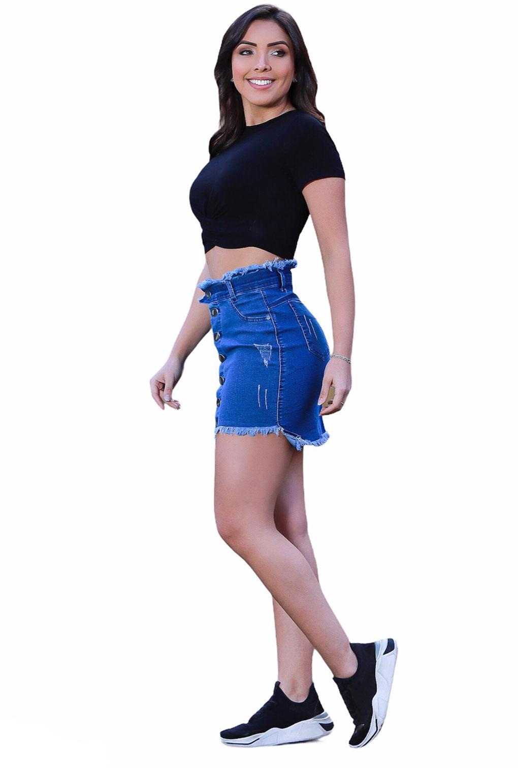 Blusa Top Cropped Detalhe Cruzado Blogueira Alto Verão  - ModaStore   Moda Feminina