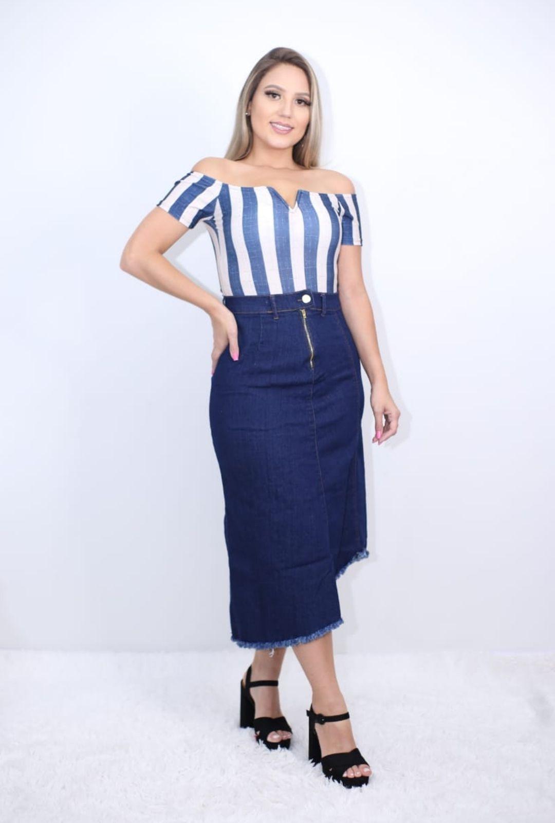 Body Bori Feminino com Bojo Listrado  - ModaStore   Moda Feminina