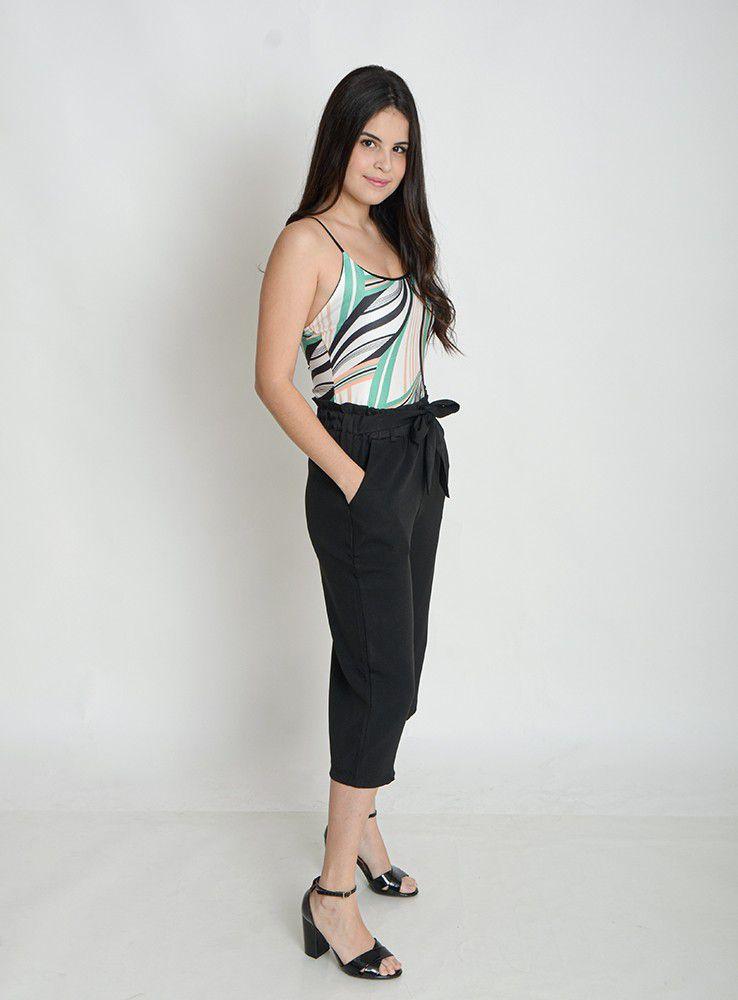 Body Bori Feminino Alcinha Estampado Suplex   - ModaStore