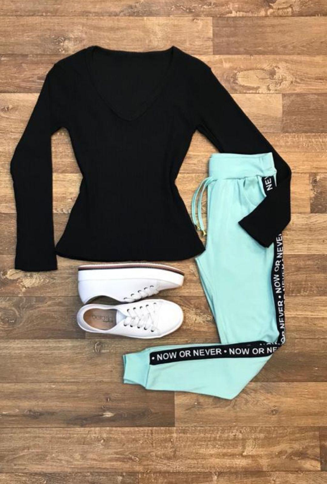 Calça Capri Ribana   - ModaStore