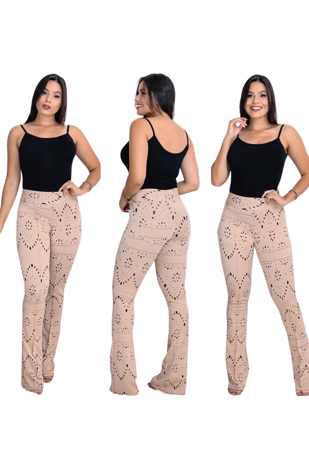 Calça Flare Jacar  - ModaStore | Moda Feminina