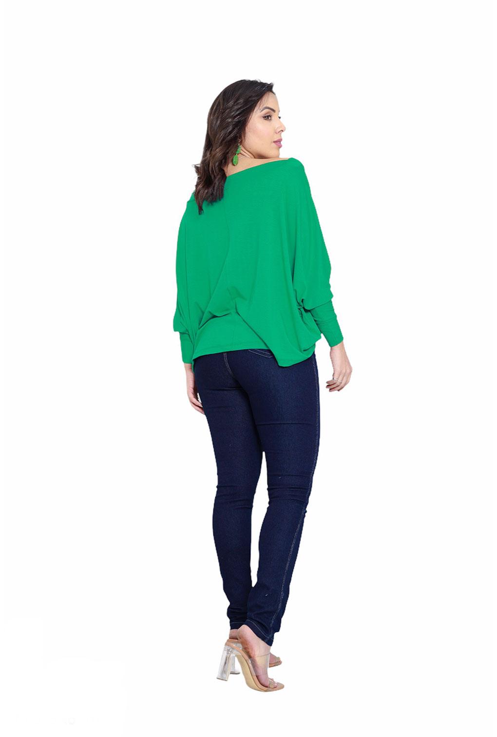 Calça Jeans Básica Cintura Média Azul Escuro Com Elastano Blogueira  - ModaStore | Moda Feminina