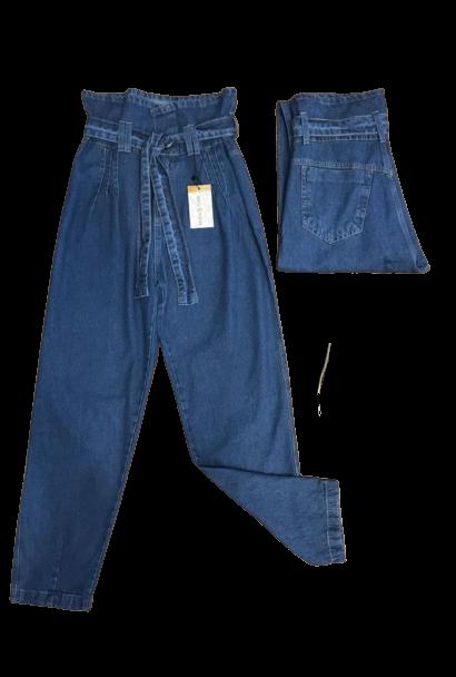 Calça Jeans Feminina Mom Baggy Clochard Com Slouchy Boyfriend  - ModaStore