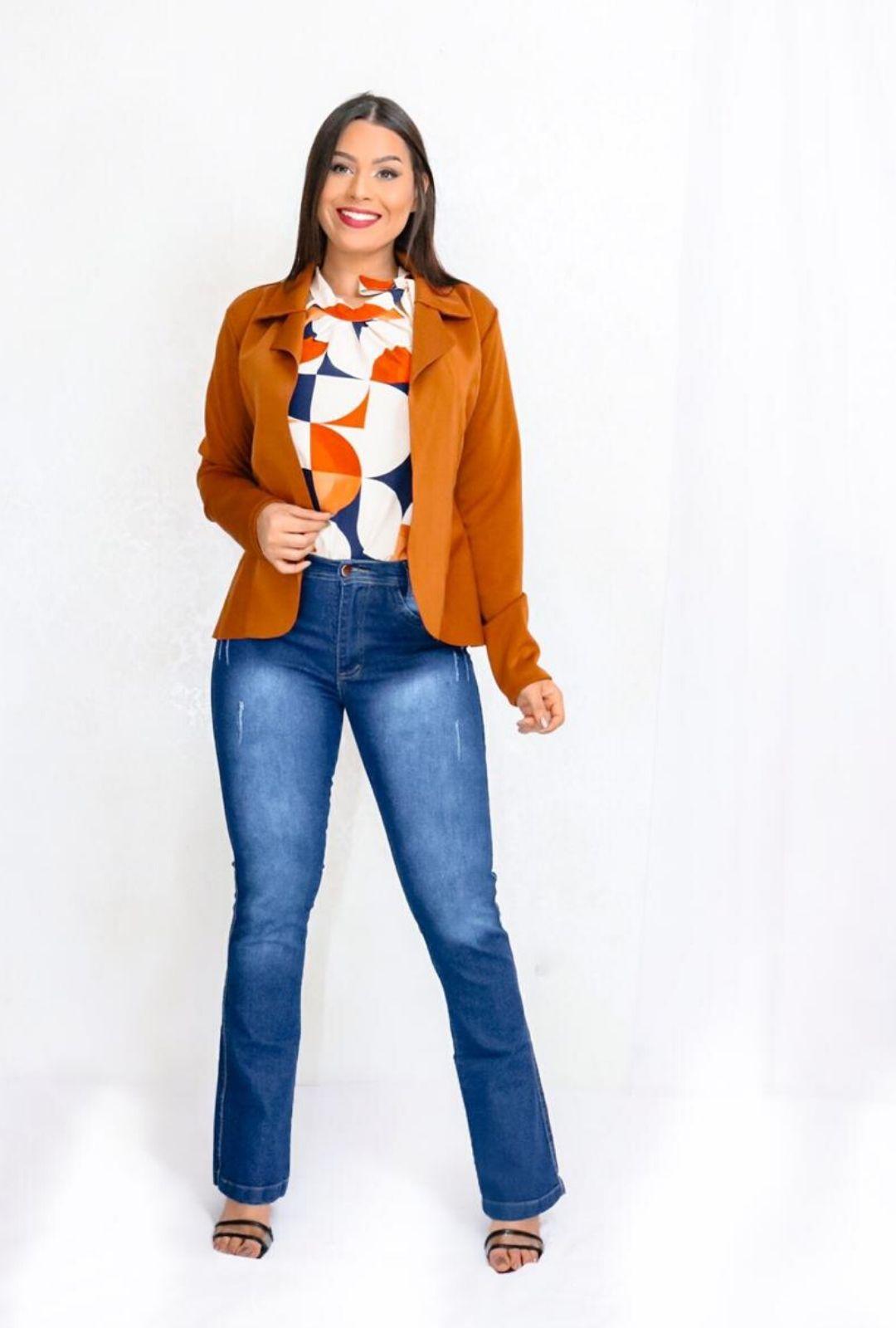 Calça Jeans Flare Stela  - ModaStore | Moda Feminina