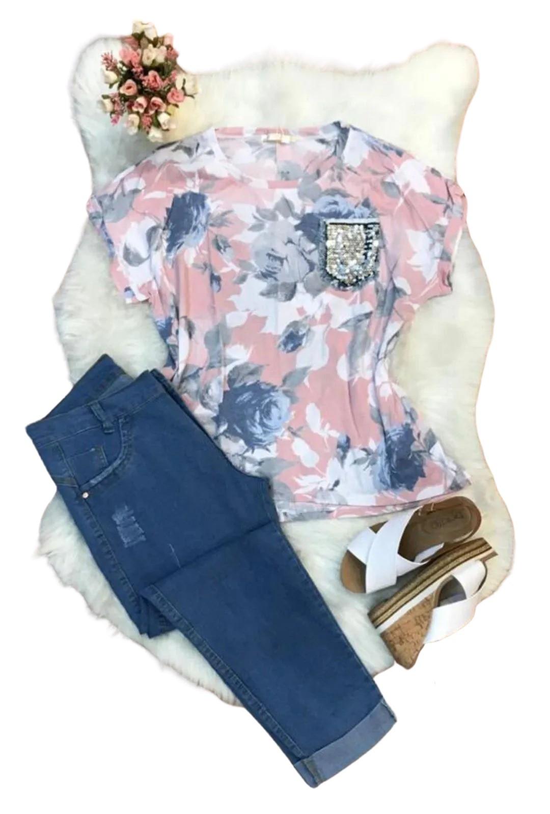 Calça Jeans Plus Size Cigarrete   - ModaStore