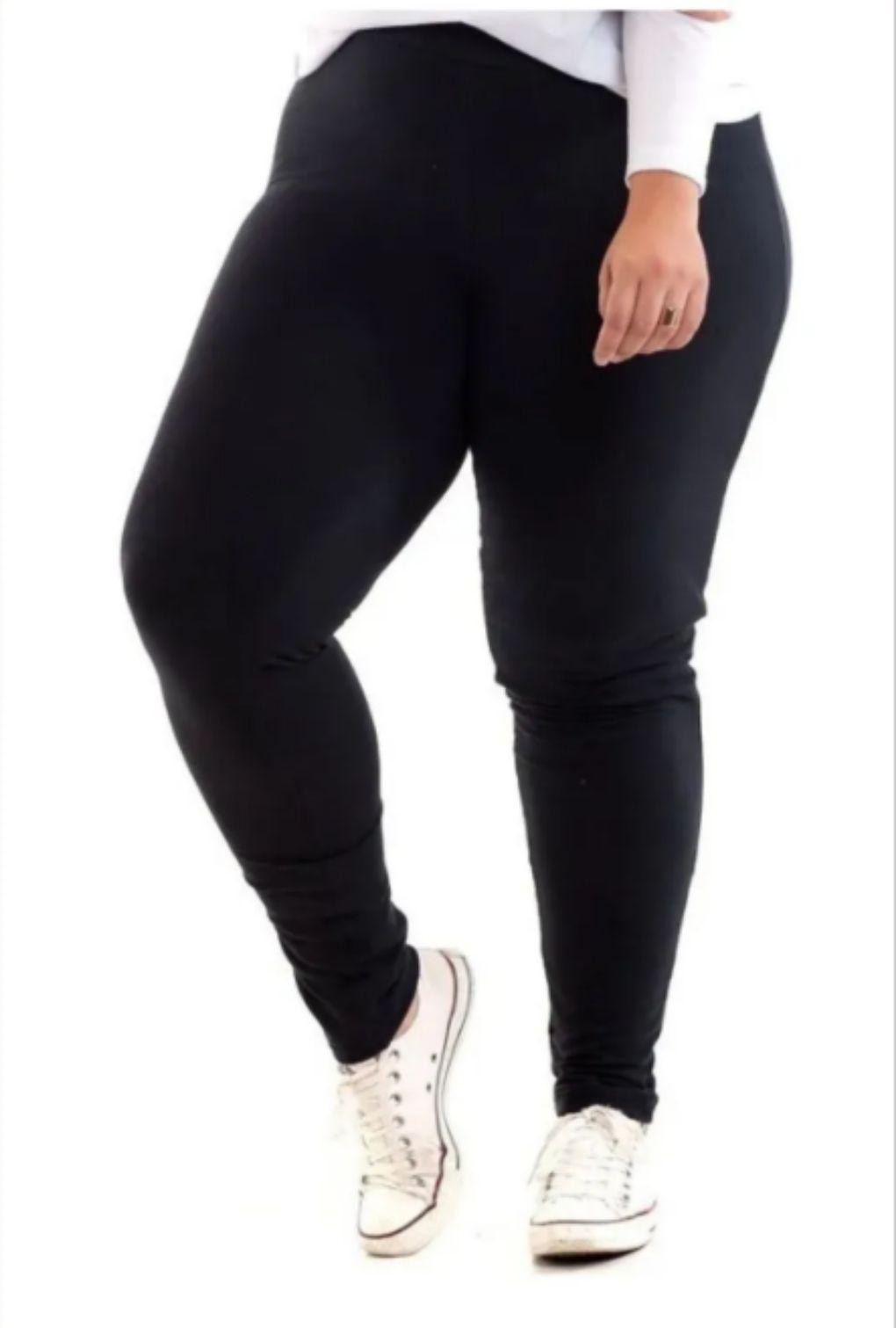 Calça Legging Plus Size Forrada Feminina  - ModaStore | Moda Feminina
