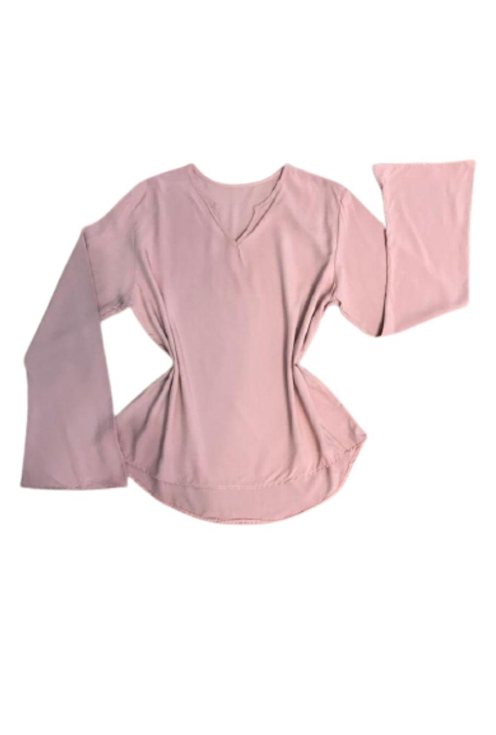 Camisa Blusa Feminina Manga Flare Social Lisa  - ModaStore