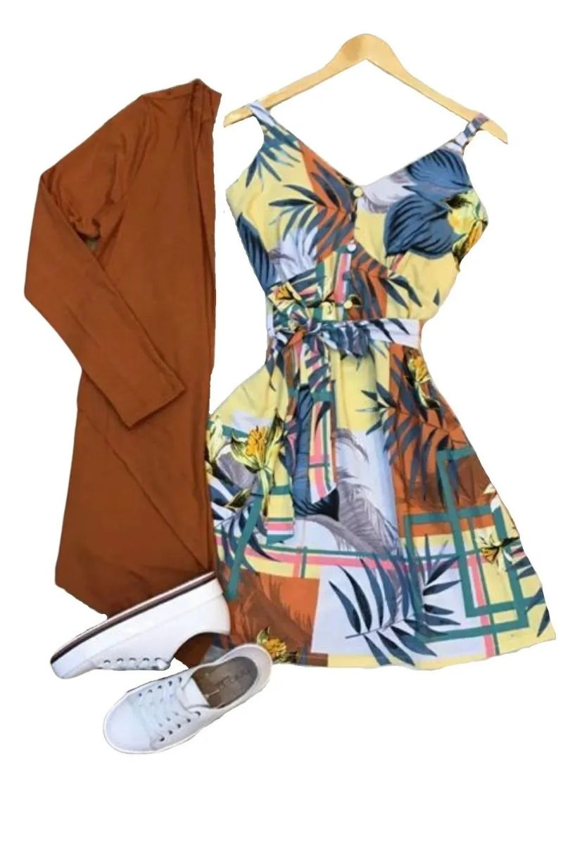 Cardigan Kimono  Feminino Casaco  Assimétrico Liso  - ModaStore | Moda Feminina
