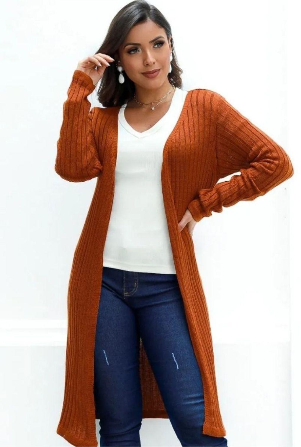 Casaco Cardigan Kimono Casaquinho Feminino  - ModaStore | Moda Feminina