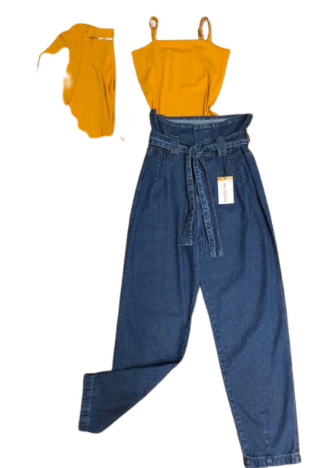 Conjunto Cardigan e Alcinha de Malha Feminino   - ModaStore