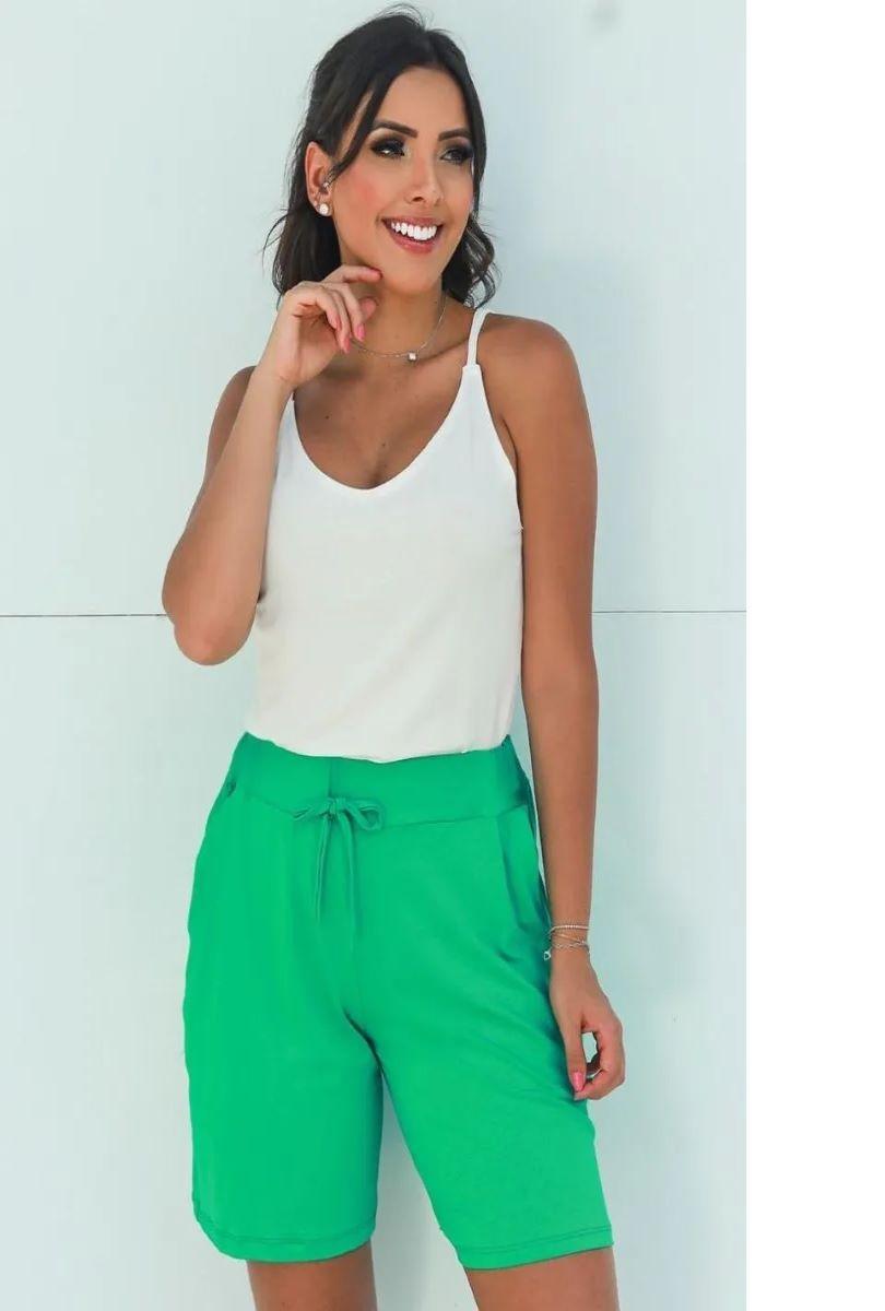Kit 03 Blusa Alcinha Regata Feminina Básica Lisa  - ModaStore