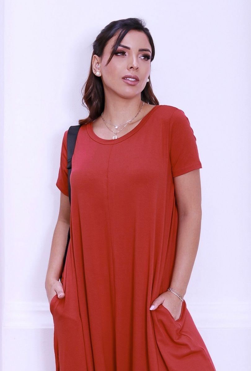 Macacão Feminino Saruel  - ModaStore