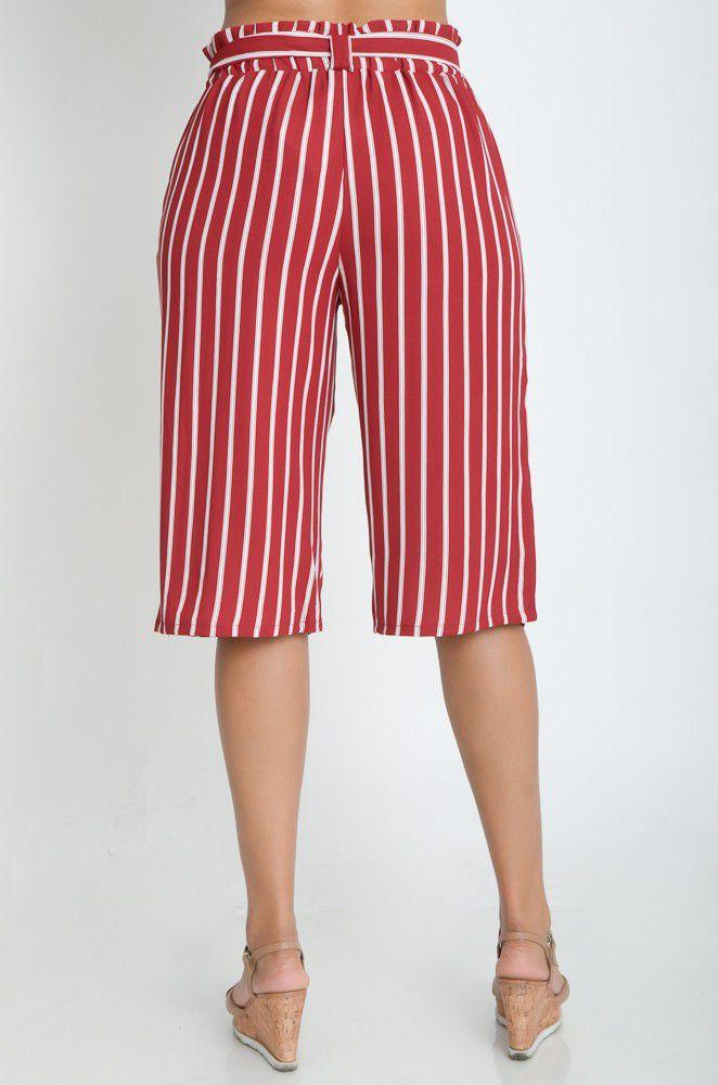 Calça Pantacourt Navy  - ModaStore | Moda Feminina
