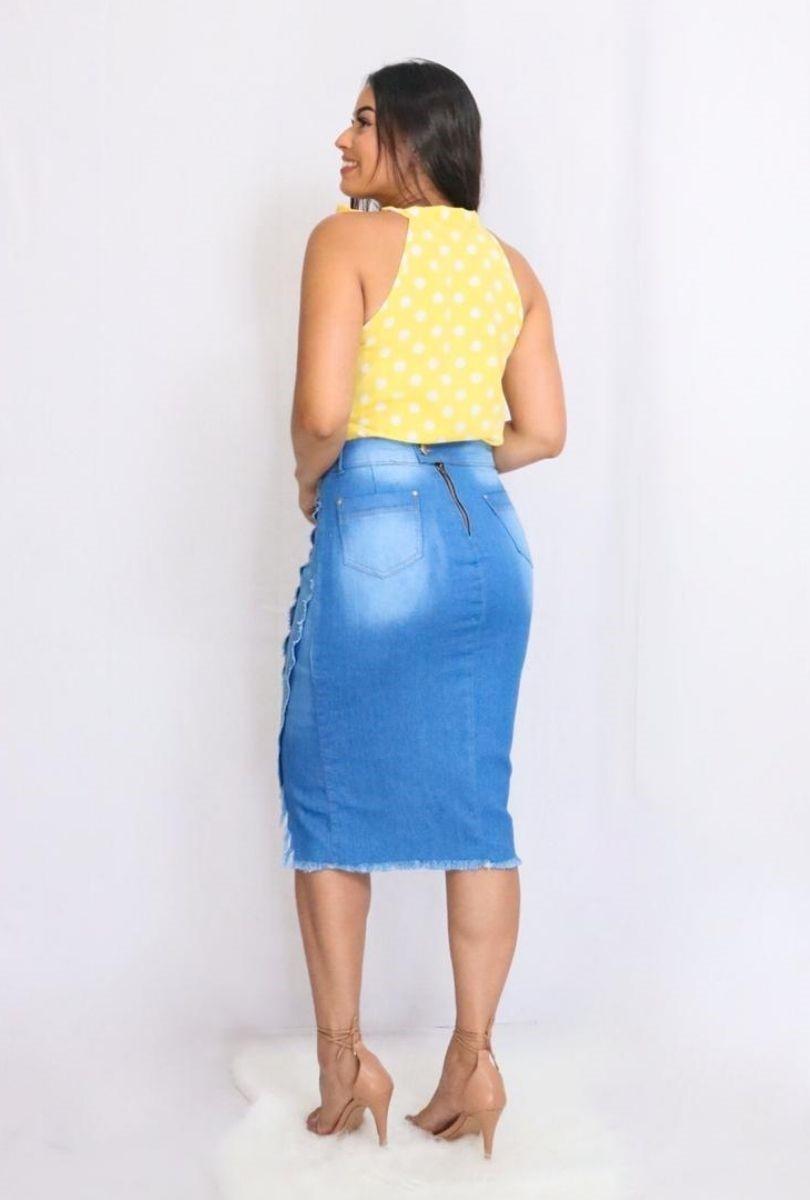 Blusa Camisa Regata Feminina Laço Pescoço Gola Alta Social Amarelo  - ModaStore