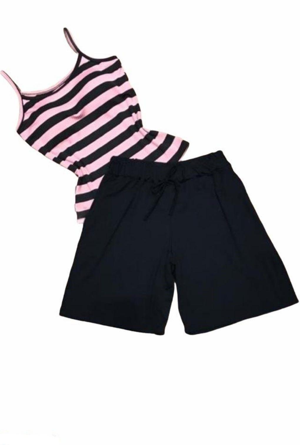 Shorts Básico Feminino Preto  - ModaStore | Moda Feminina