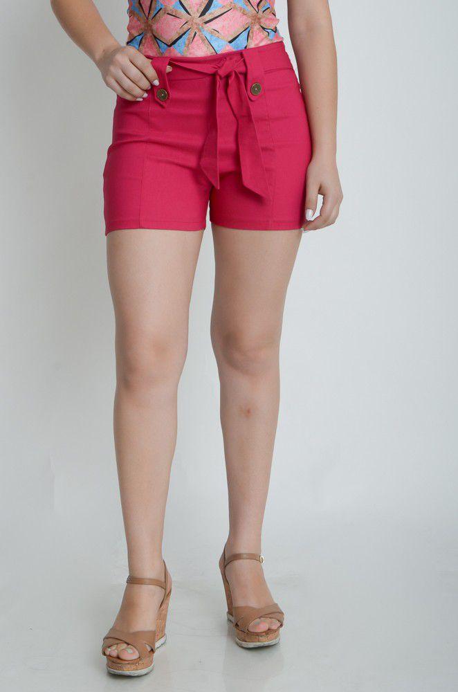 Shorts Bengaline Feminino Curto  - ModaStore   Moda Feminina