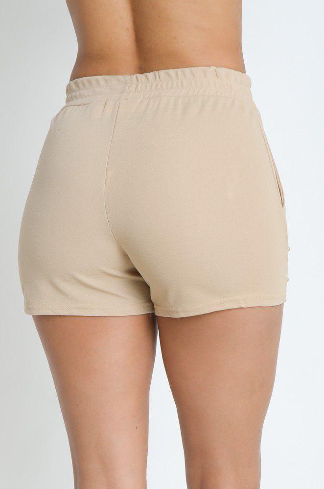 Shorts Crepe com Pérola  - ModaStore   Moda Feminina