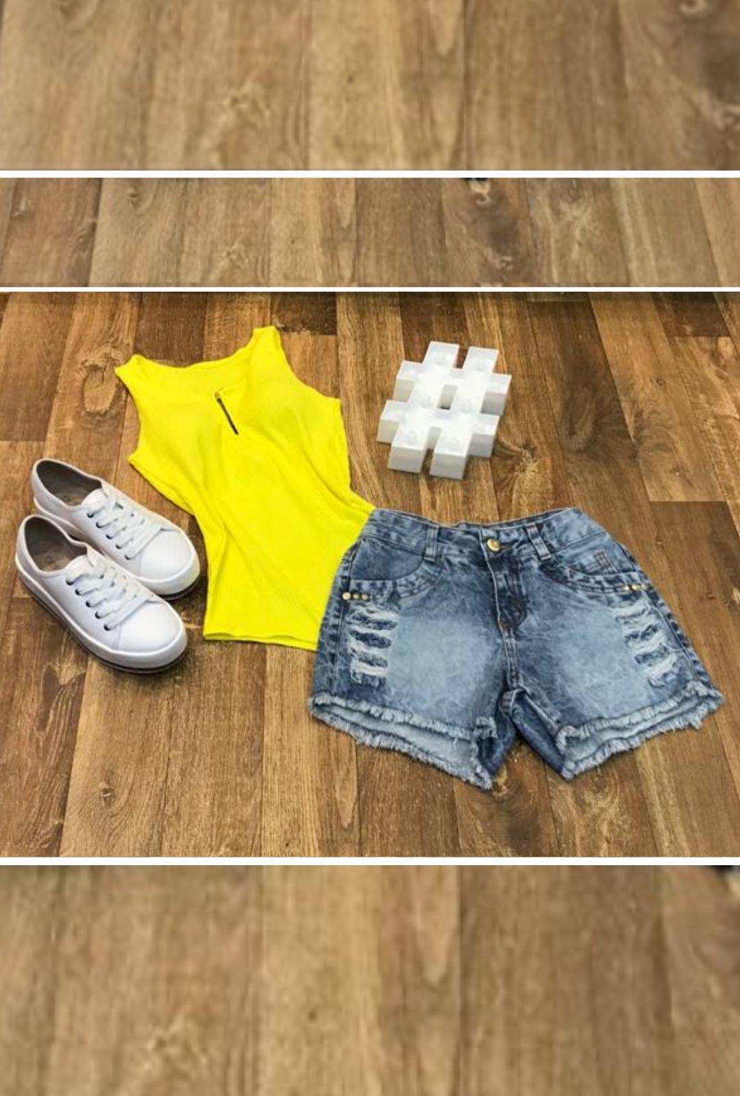 Shorts Jeans Vintage  - ModaStore