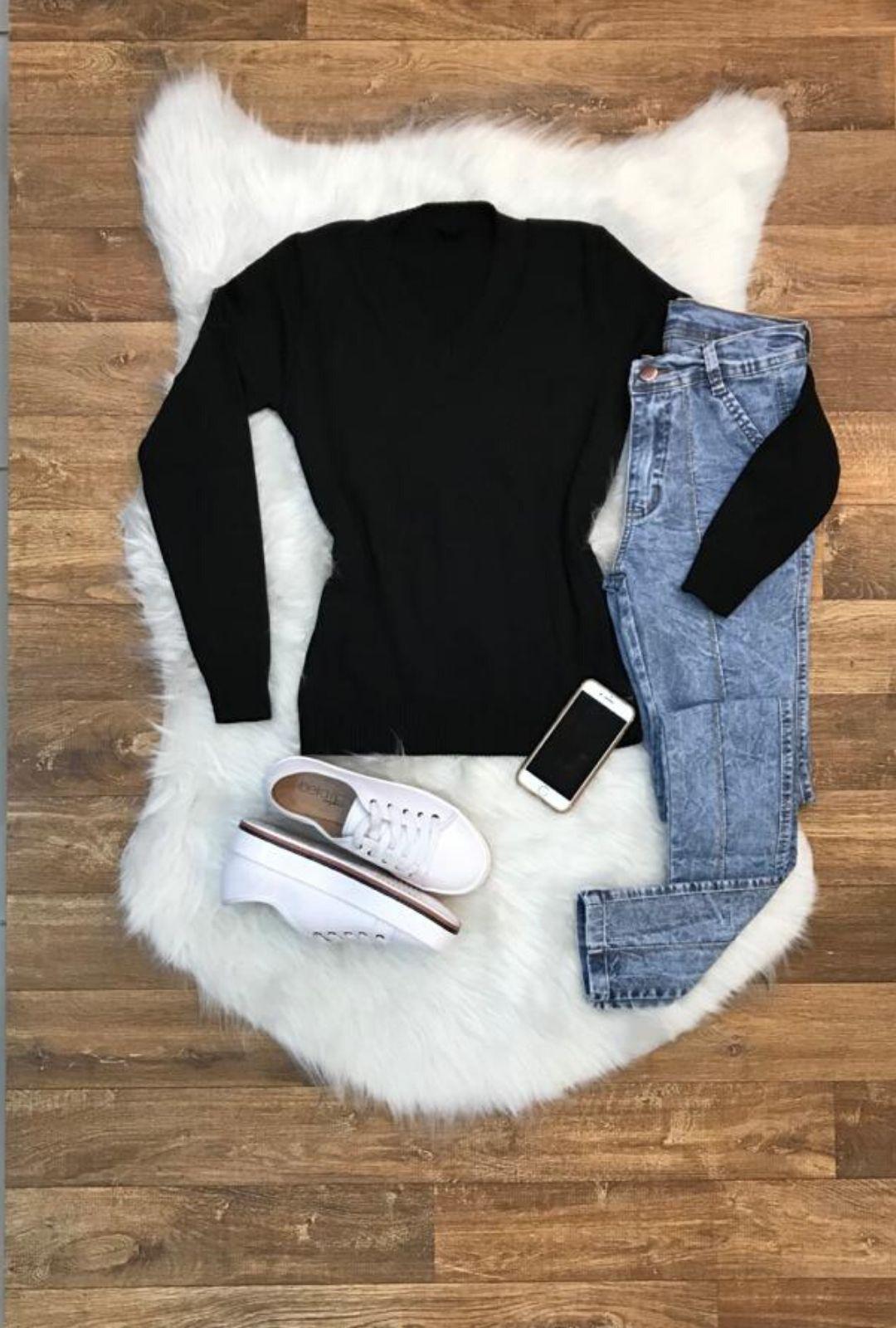 Suéter Tricot Feminina Lisa  - ModaStore