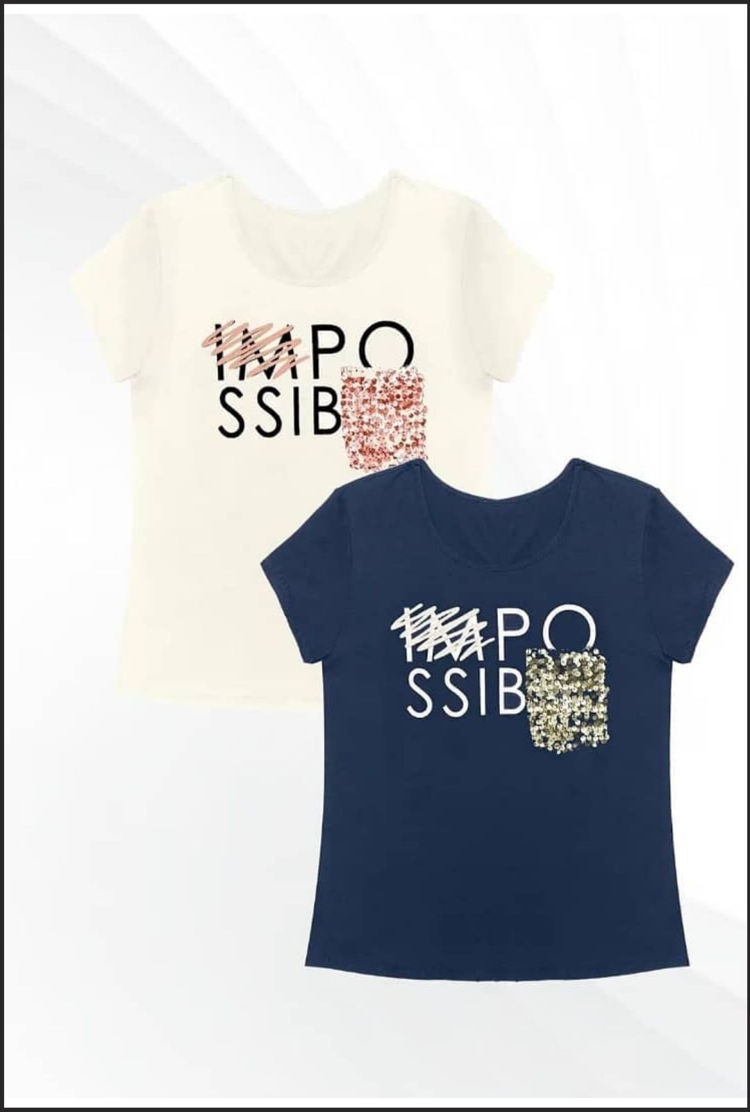 T-Shirt Impossible  - ModaStore