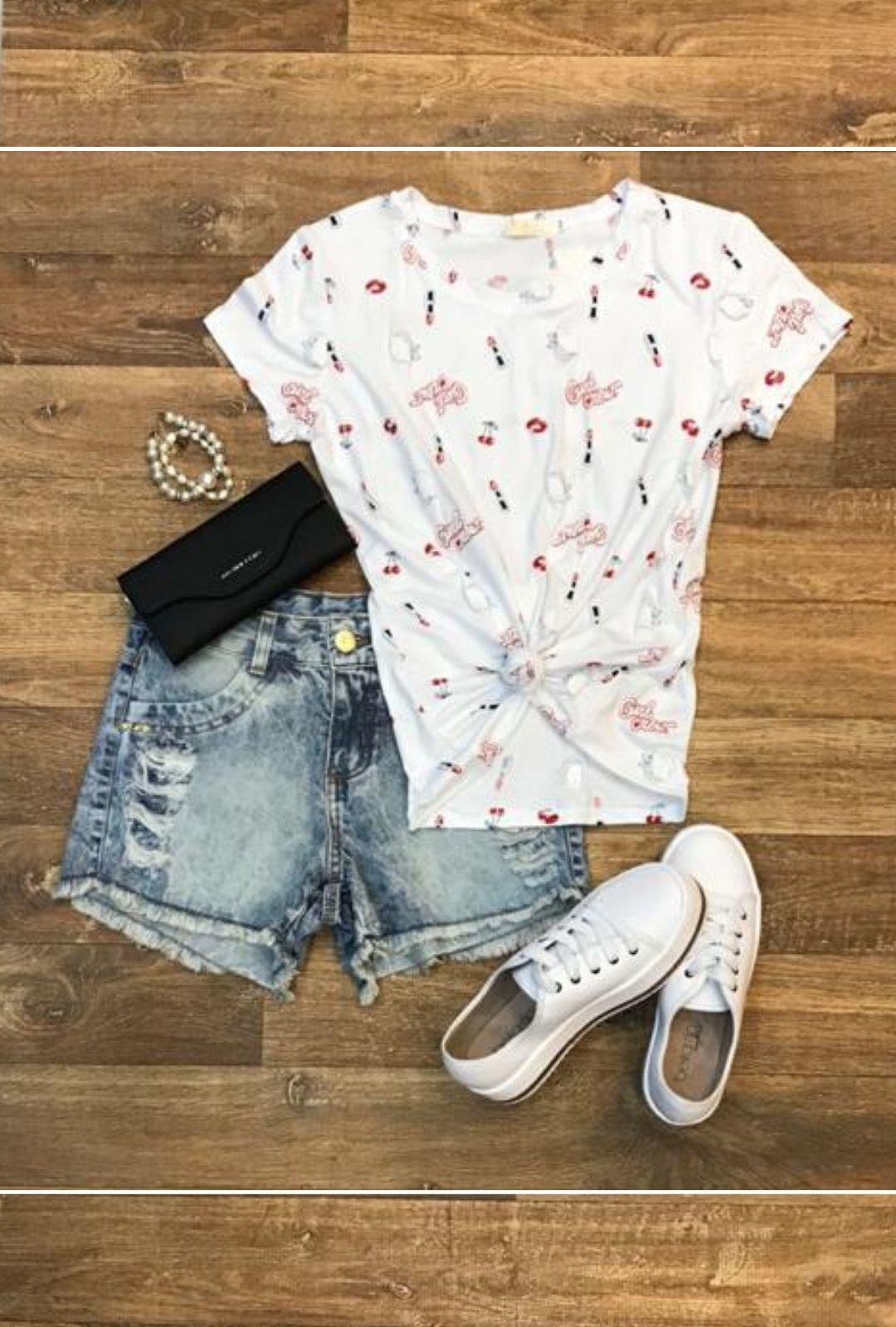 T-Shirt Melissa  - ModaStore | Moda Feminina